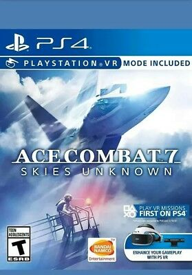 Ace Combat 7: Skies Unknown (Playstation 4)  (DISC ONLY