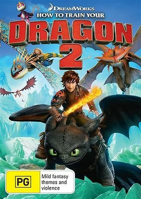 How To Train Your Dragon 2 (DVD, 2014)