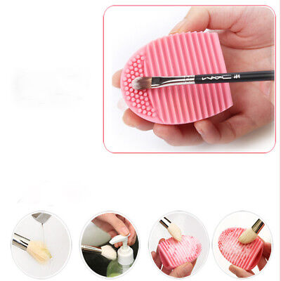 Womens Cleaning Glove MakeUp Washing Brushes Scrubber Board Cosmetic Clean Tools