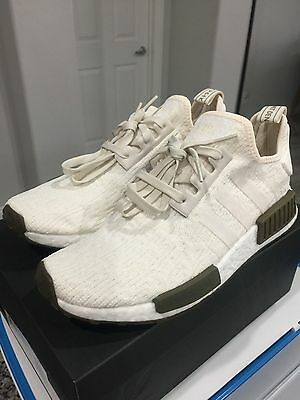 1562e2f60f415 ADIDAS NMD R1 Chalk Olive Champs Exclusive Cq0758 Limited Edition ...