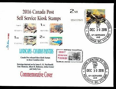 2016 KIOSK Computer Stamp Commemorative Cover -Sgl - CDN Picture Postage