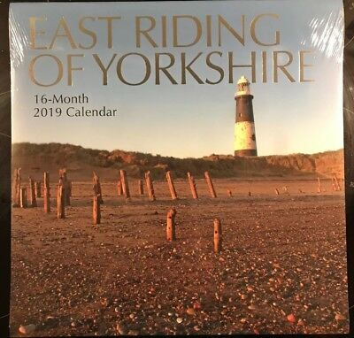East Riding Of Yorkshire Wall Calendar 2019