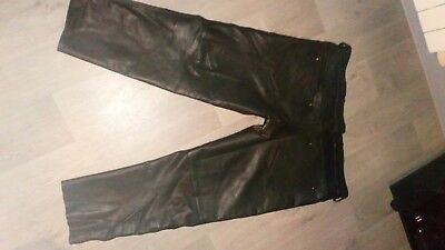 Leather Pants  501 Style For Men