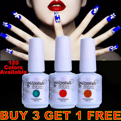15ML GEL LAB Soak Off  UV LED Gel Polish Base Top Coat Manicure Varnish Lacquer*
