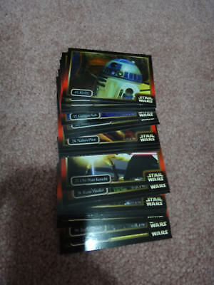 Star Wars Episode 1 Collector Trading Cards Set (13 Cards)