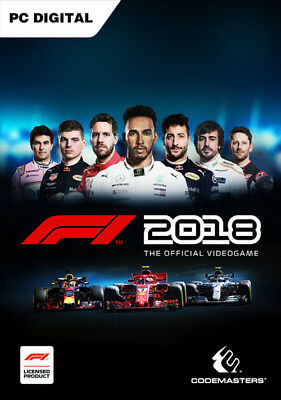 F1 2018 per PC - ITALIANO Originale STEAM