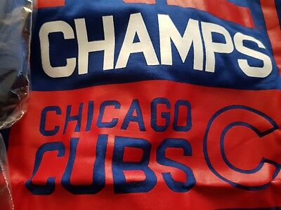 Chicago Cubs Champs Tshirt Size 2Xl Brand New Authentic
