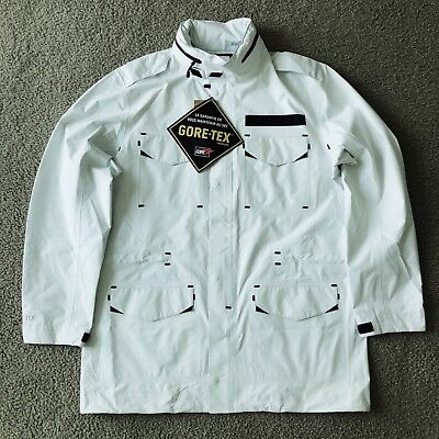 NWT Nike Sportswear Gore-Tex Heat Sealed M65 Military Jacket White Men L - $400