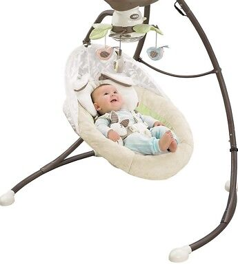 My Little Snuggle Bunny Cradle 'n Swing - Fisher-Price