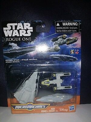 Star Wars Rogue One Imperial Attack Micromachines New Sealed.