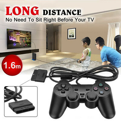 For PS2 PlayStation 2 Wired Cable Controller Dual Shock Gamepad Console Joypad