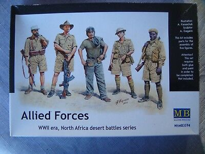 Allied Forces 1/35 Masterebox