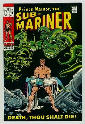 Sub-Mariner #13 NM/MT 9.8 White pages 1969 Marvel Silver age