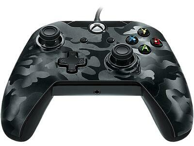PDP Wired Controller For Xbox One & PC - Black Camo