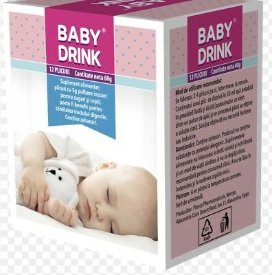 Baby Drink Tea For Baby- 12Teapowder Bags Digestive Tea To Soothe Colic