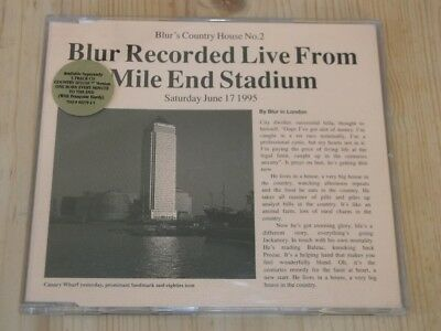 Blur:  Country House  (Live at Mile End )   Near Mint CD single
