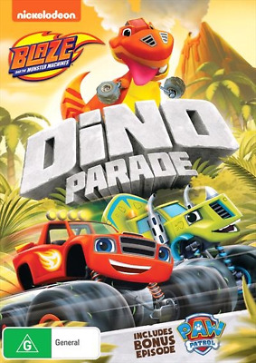 Blaze And The Monster Machines - Dino Parade (DVD, 2018) NEW