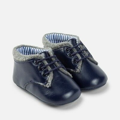 Designer MAYORAL Baby Boys Pre Walking Navy Blue Shoe WAS £16.00 NOW £7.99