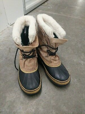 Sorel Caribou Winter Snow Boots with Removable Wool Liner - Men's