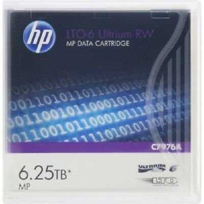 Data Cartridge 6.25 TB Storage Capacity Re-writable 400 MB/sec Read Speed HPE