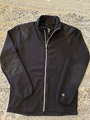Ogio Men's Minnesota General Mills Medium M Black Full Zip Jacket