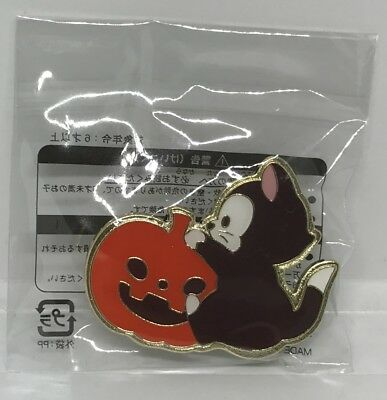 New Tokyo Disney Resort Japan Game Prize Pin Halloween 2018 Figaro Free shipping