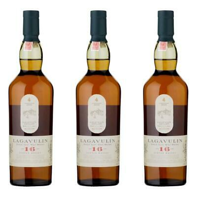 Lagavulin 16 Years Jahre Single Malt Whisky Scotch 3er Alkohol Flasche 43% 200ml