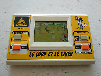 Liwaco GAME & WATCH jeu electronique/handheld Le loup et le chien Made in Japan