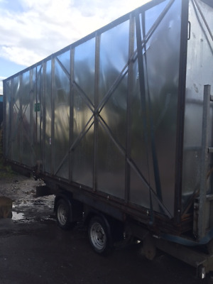 Storage Box - van box, not shipping container - large shed, workshop, tack room