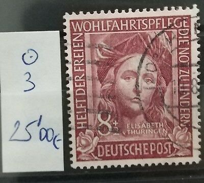 ALEMANIA FEDERAL: sello usado. YVERT 3. 25€