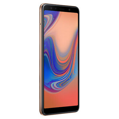 Smartphone 4G Samsung Galaxy A7 2018 Gold DUOS Android 8.0 Memoria 64 GB BRAND