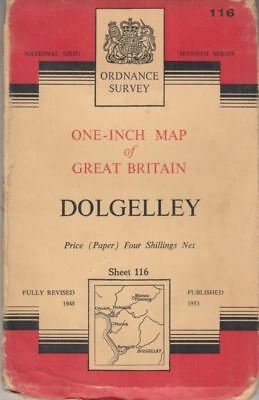 One Inch Map of Great Britain Sheet 116 Dolgelley : ANON