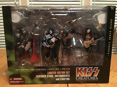 KISS Creatures of the Night Deluxe Boxed Set2002 McFarlane Toys