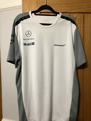 McLarens Mercedes T Shirt XL