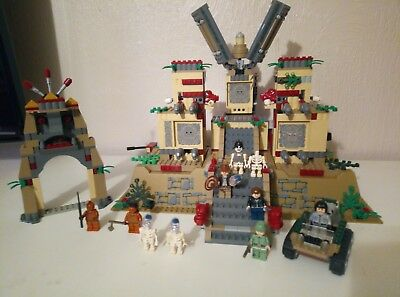 LEGO - Indiana Jones -Temple of the Crystal Skull - set 7627...Complete...
