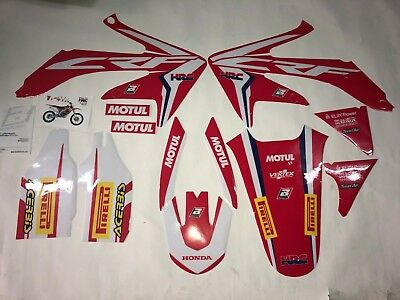 Kit Adesivi Grafiche Graphics Stickers Blackbird Honda Crf 450 2006