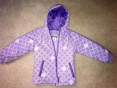 Columbia Girls Ski Jacket - Purple Size: Y 6/6X
