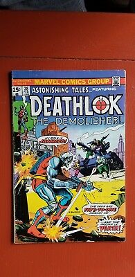 Astonishing Tales #28 - Deathlok The Demolisher 1975. Nice condition.