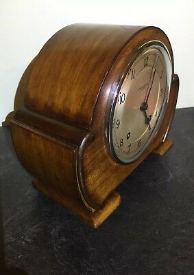 ART DECO Garrards James Walker Striking CLOCK Original Key Pendulum 1931