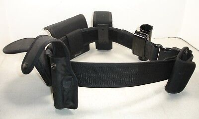 Law Enforcement Service Belt With All The Accessories - Excellent Condition!!!