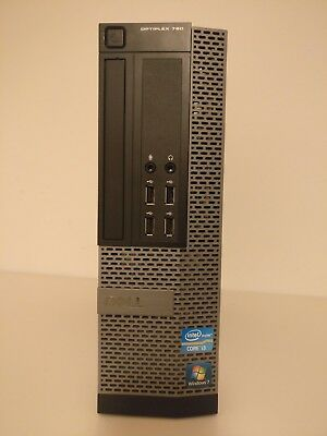 Dell Optiplex 790 - Intel Core i3, 8GB DDR3 RAM, 120GB SSD, 250GB HDD, Win 7 Pro