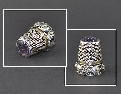 Germany Violet Stone Top Thimble
