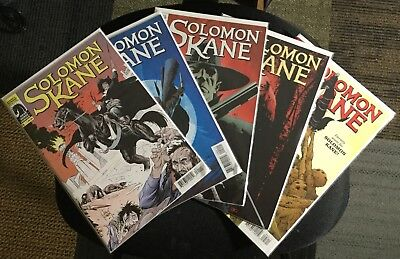 Solomon Kane #1-5 Comic Set