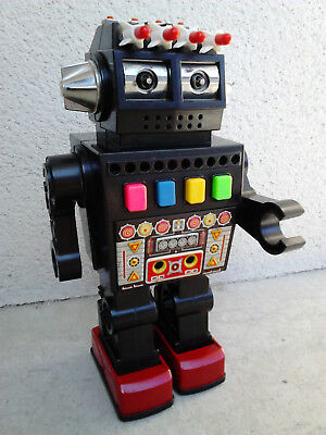 TALKING ROBOT BY YONEZAWA Y MISSILE Horikawa BATTERY OPERATED Made IN JAPAN !!!