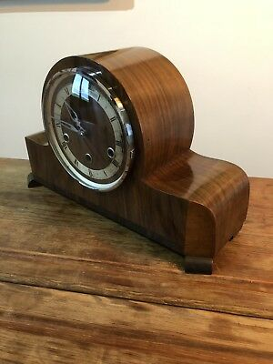 Antique Mantle Clock . Whittington & Westminster Chimes . German Made .