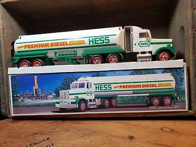 Rare Premium Hess Tanker Truck - 1993 Not Sold To General Public -