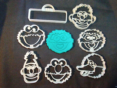 Sesame Street  Cookie Cutters