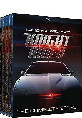 Knight Rider - The Complete Series (Blu-ray Disc, 2016, 16-Disc Set)