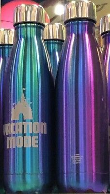 2019 New Disney Parks Purple Potion Vacation Mode Metal Water Bottle.