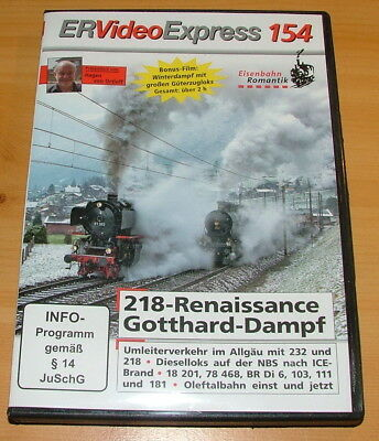 DVD Rio Grande Eisenbahn Romantik Video Express 154 mit Bonus